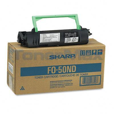 SHARP FO-4400/DC500 COPIER TONER CART BLACK